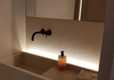 Badkamermeubel bij particulier