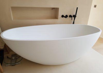 Design badkuip bij particulier