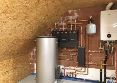 Condensatie gaswandketel